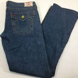 True Religion Billy Straight Leg Jeans Size 32